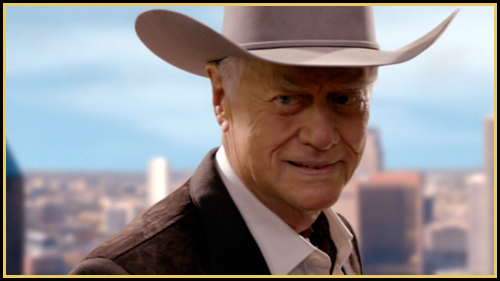 Larry Hagman sizzles in the opening episodes of Season 2. (Image: TNT)