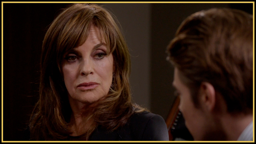 Sue Ellen makes a big decision in &quot;Blame Game&quot; (image: TNT)