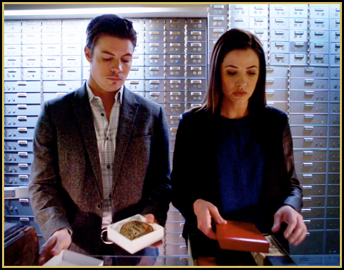 John Ross and Pamela plant evidence (image: TNT)